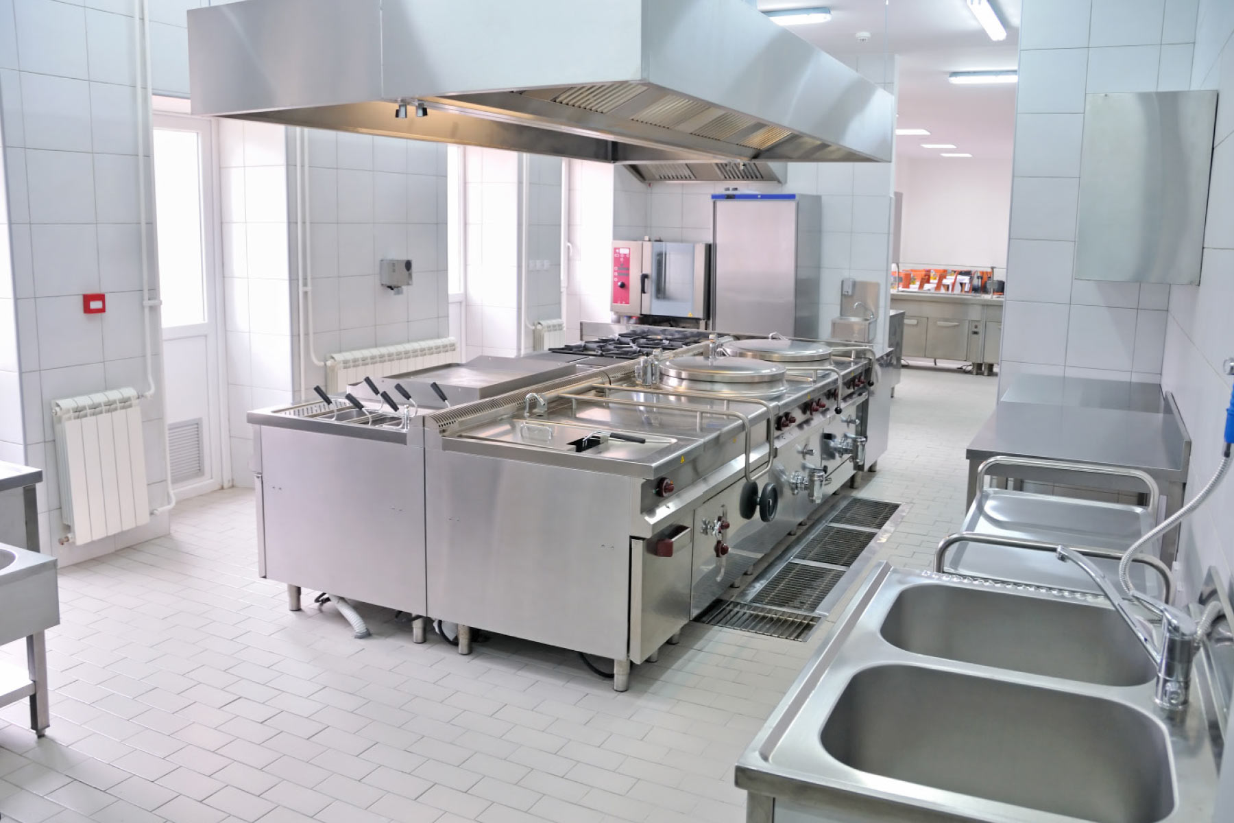 Stainless Steel Kitchen Interior